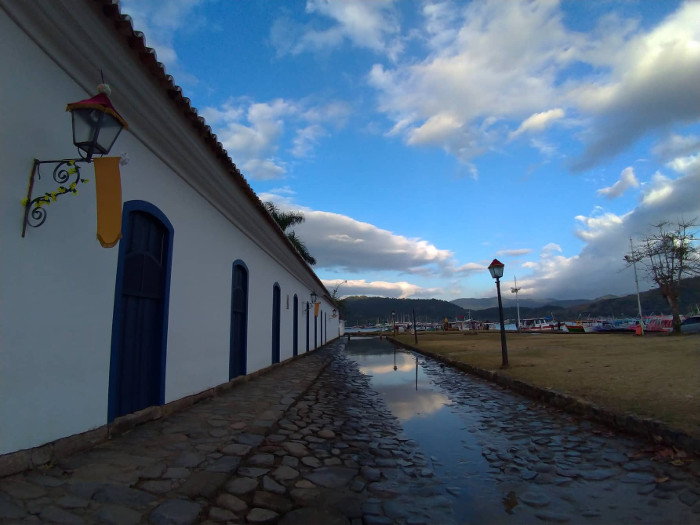 Centro histórico de Paraty.