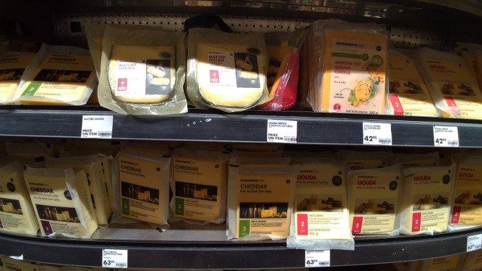 Supermercado Woolworths | Quanto custa viajar para a Cidade do Cabo