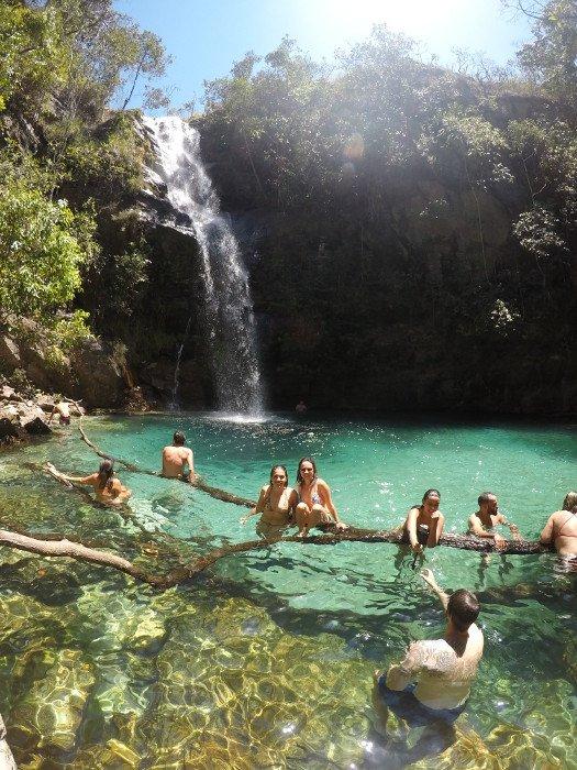 Cachoeira Santa Bárbara - Cachoeiras de Cavalcante