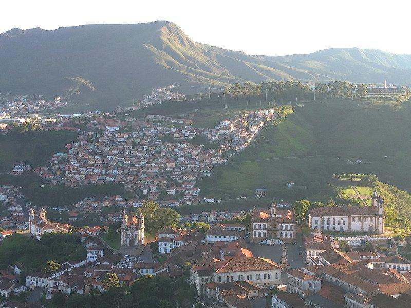 Ouro Preto vista do Mirante São Sebastião.