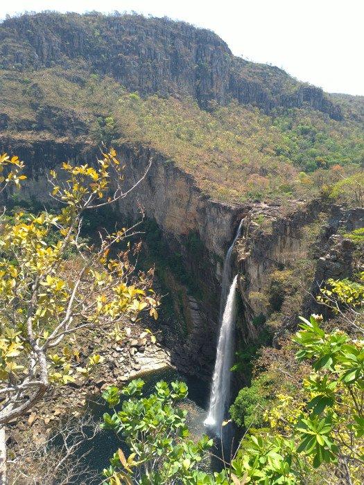 Cachoeira Salto dos 120 metros
