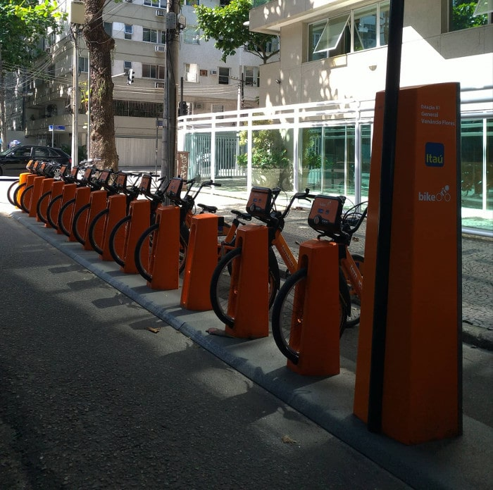 Estação Bike Itaú   O que fazer em Copacabana, Ipanema Leblon e Urca
