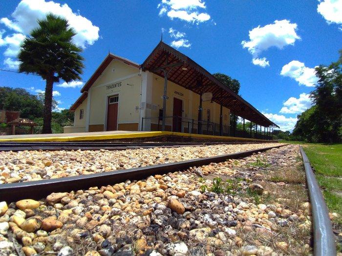 Estação ferroviária de Tiradentes.