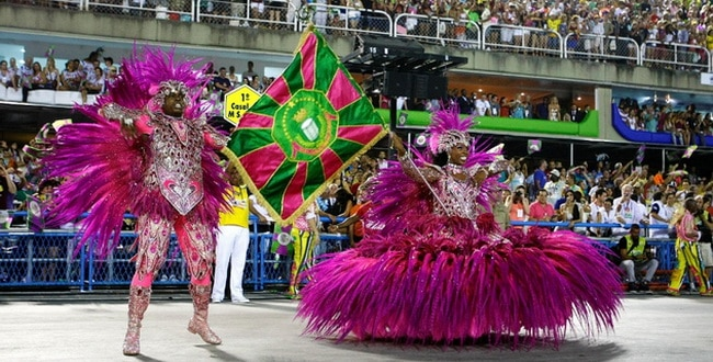 Escola de samba do Rio